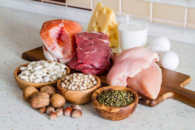 タンパク質が豊富な食品
