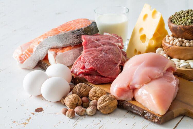 タンパク質が多く含まれている食品