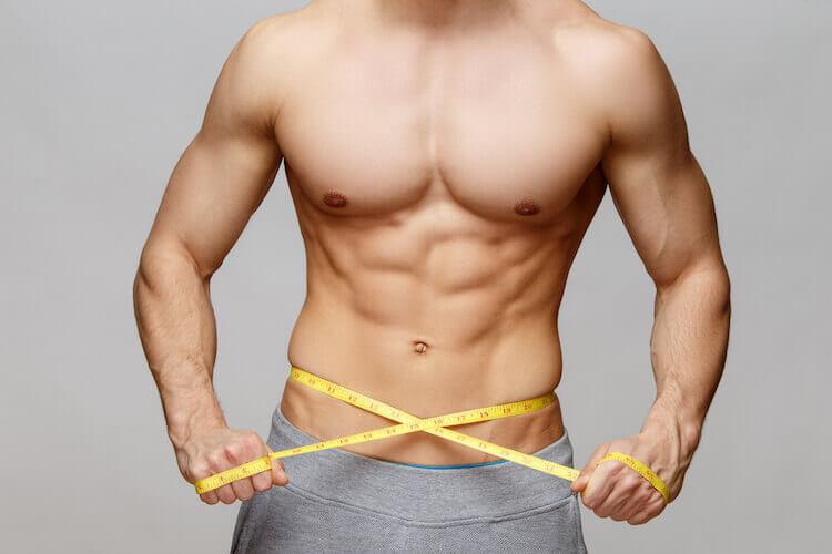 体脂肪の減少