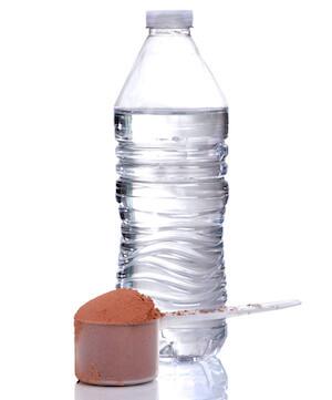 水とプロテイン